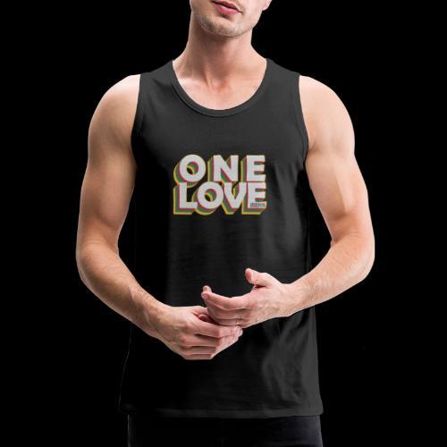 ONE LOVE - Männer Premium Tank Top