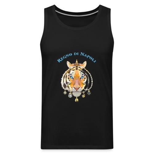 regno di napoli tigre - Canotta premium da uomo