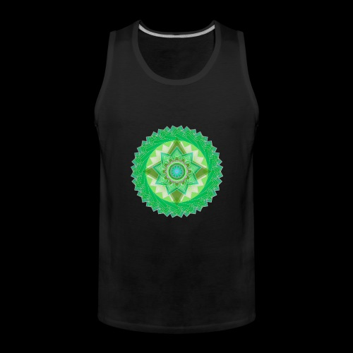 mandala 1 - Men's Premium Tank Top
