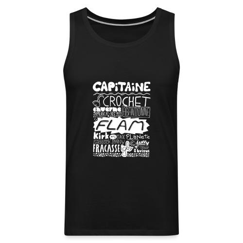 capitaine-blanc Tee shirts - Débardeur Premium Homme