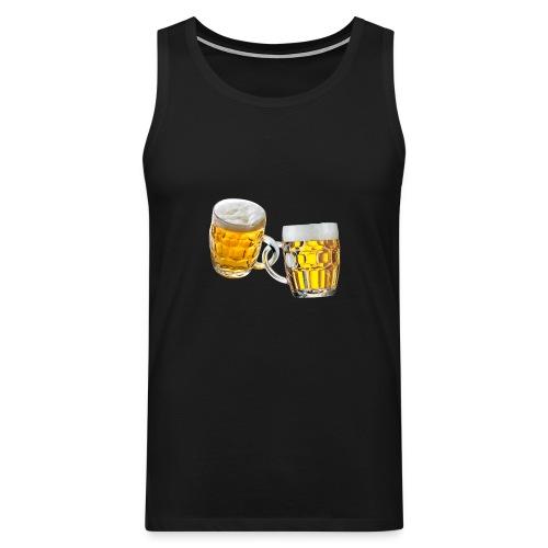 Boccali di birra - Canotta premium da uomo