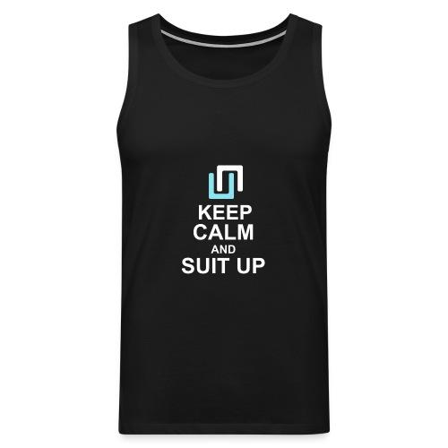 Neon Suit Up - Men's Premium Tank Top