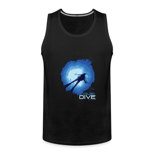 Come and dive with me - Tank top męski Premium