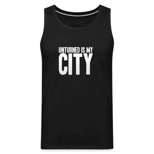 Unturned is my city - Men's Premium Tank Top