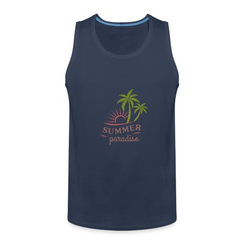 Summer paradise - Men's Premium Tank Top