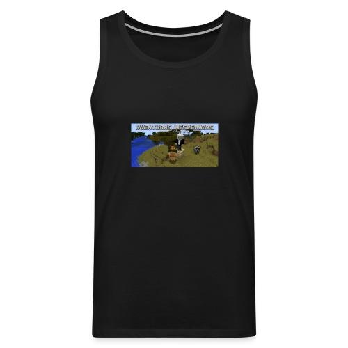 minecraft - Men's Premium Tank Top