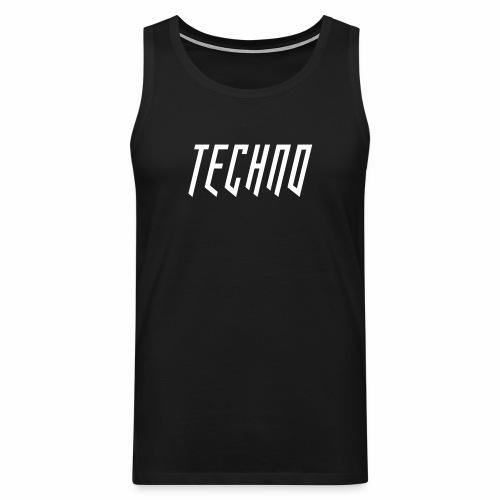 Techno_2019_V6 - Männer Premium Tank Top