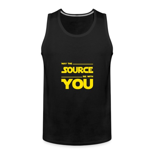 May Source Be With You für Programmierer - Men's Premium Tank Top