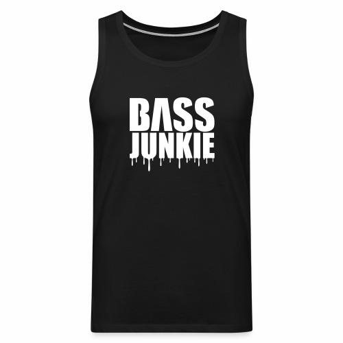 Bassjunkie Bass Music Musik Electro Festivals DJ - Männer Premium Tank Top