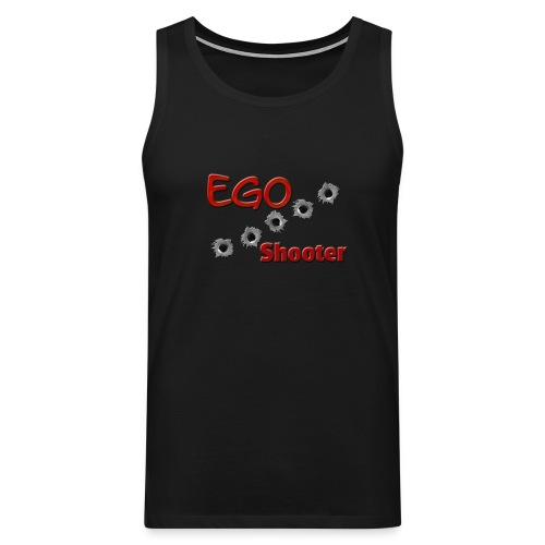 EGO Shooter png - Men's Premium Tank Top