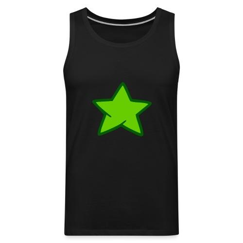 Estrella verde - Tank top premium hombre