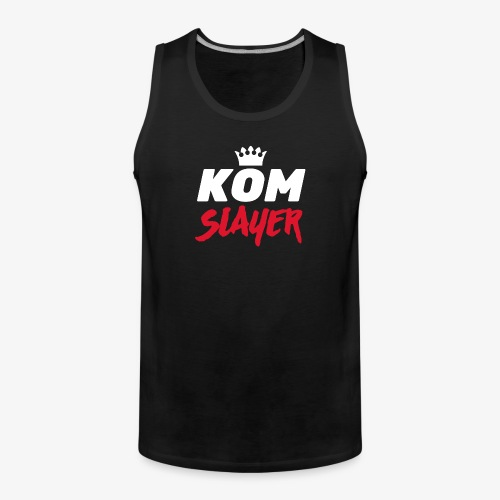 king of the mountain slayer - mtb - Men's Premium Tank Top