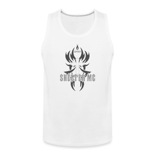 Support Shelter MC - Premium singlet for menn