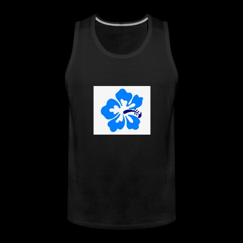 hawaiian flower - Men's Premium Tank Top