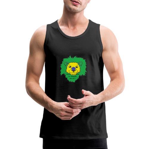 Lion supporter Brésil - Débardeur Premium Homme