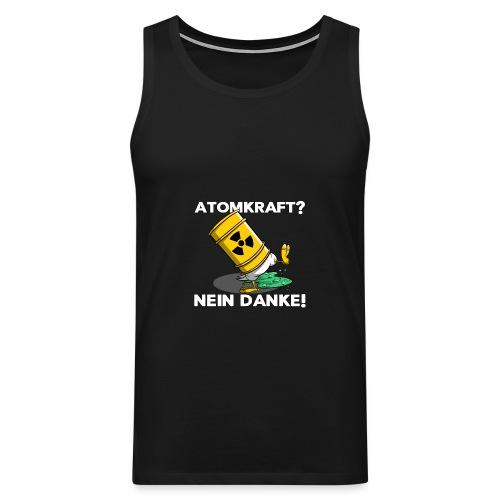 Atomkraft - Nein Danke - Männer Premium Tank Top