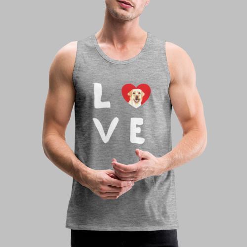 love Labrador Hundebesitzer Hundezüchter Geschenke - Männer Premium Tank Top