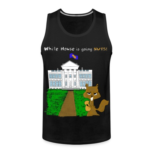 White House going NUTS - Männer Premium Tank Top