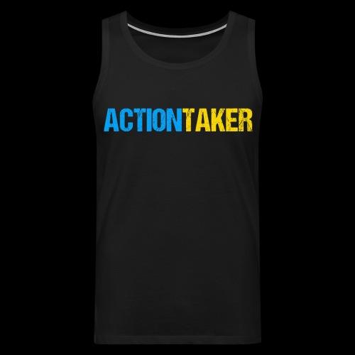Actiontaker - Männer Premium Tank Top