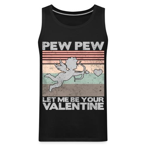 Let me be your valentine Geschenk Liebe - Männer Premium Tank Top