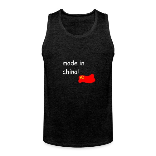 madeinchina - Tank top premium hombre