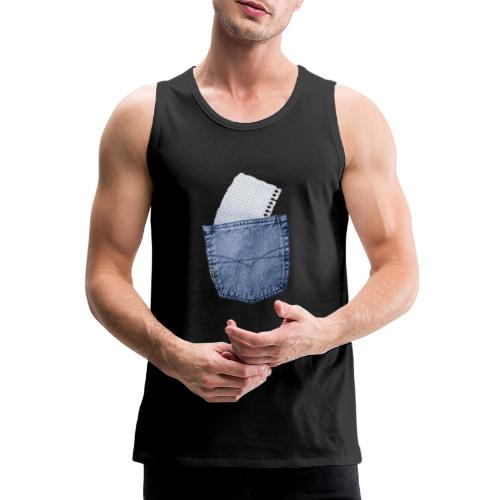 Jeans Baggy by #OneCreativeArts - Männer Premium Tank Top