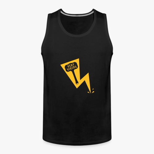 Lightning - Very Viking - Herre Premium tanktop