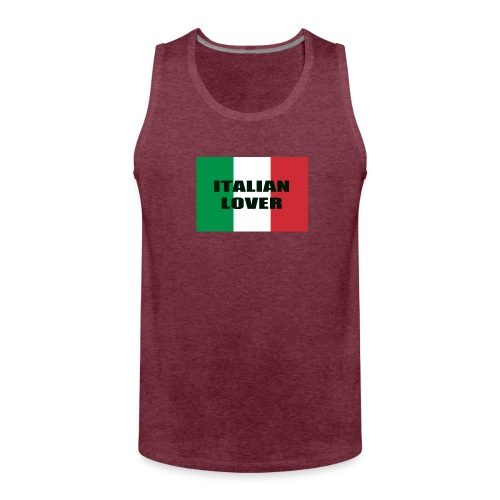 ITALIAN LOVER - Canotta premium da uomo