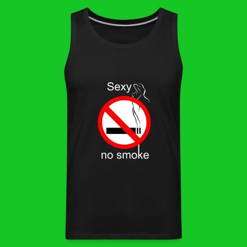 Sexy no smoke - Mannen Premium tank top