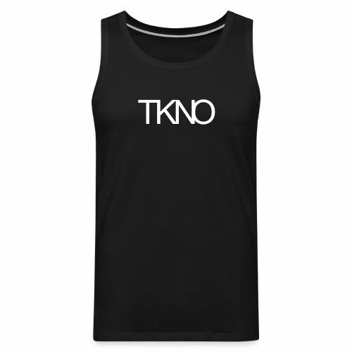 TKNO MNML Techno Minimal dark Tekkno Rave Kind - Männer Premium Tank Top