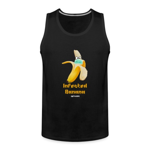 Die Zock Stube - Infected Banana - Männer Premium Tank Top