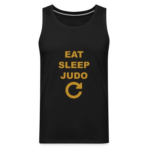 Eat sleep Judo repeat - Tank top męski Premium