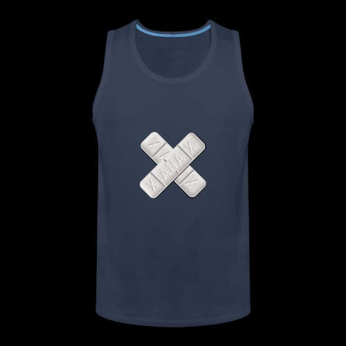 Xanax X Logo - Männer Premium Tank Top