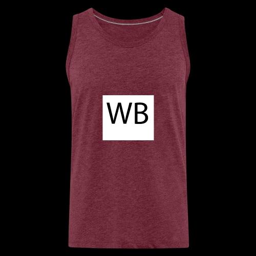 WB Logo - Männer Premium Tank Top