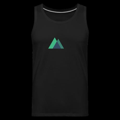 Mountain Logo - Men's Premium Tank Top