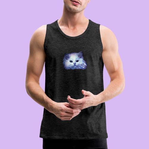 Gatto glitter - Canotta premium da uomo
