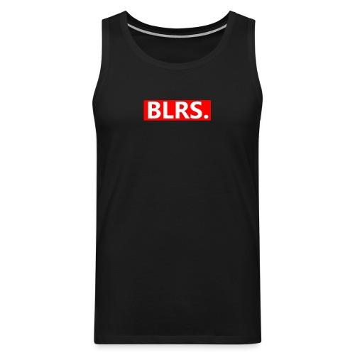 BLRS. red frame - Mannen Premium tank top