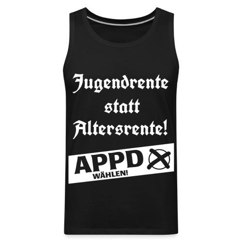 Jugendrentestatt Altersrente - APPD wählen! - Männer Premium Tank Top
