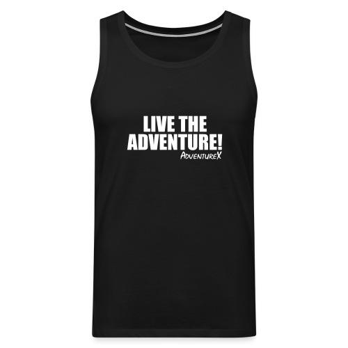 live the adventure - Men's Premium Tank Top