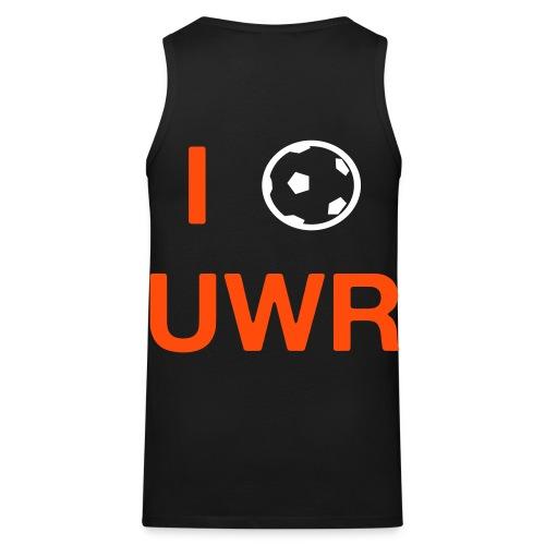 I Love UWR (2 Zeilen, Sans) - Männer Premium Tank Top