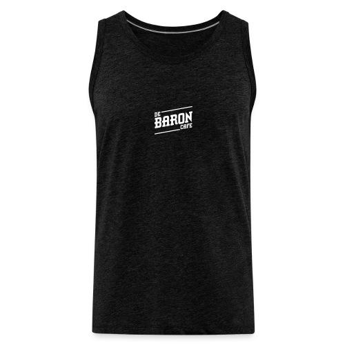 baron no back white - Mannen Premium tank top