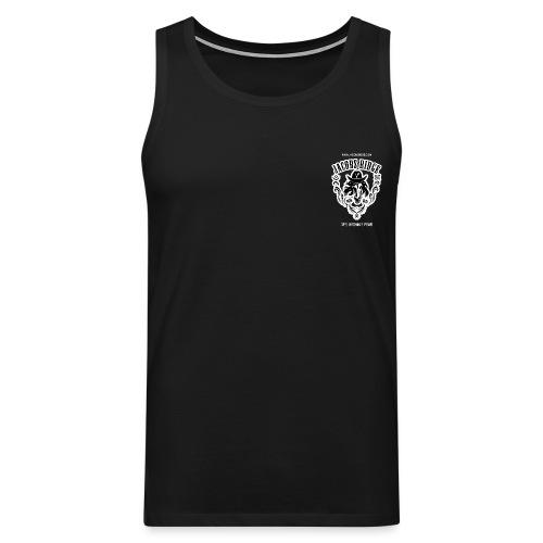 t shirt back - Men's Premium Tank Top
