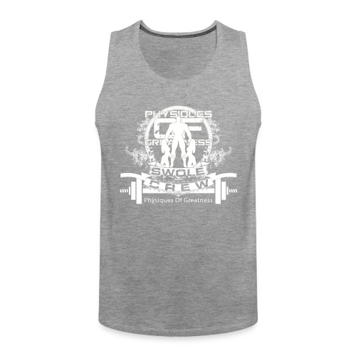 swole crew front 2 - Men's Premium Tank Top