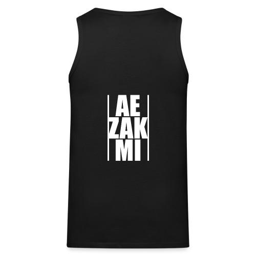 AEZAKMI-white, back - Tank top męski Premium