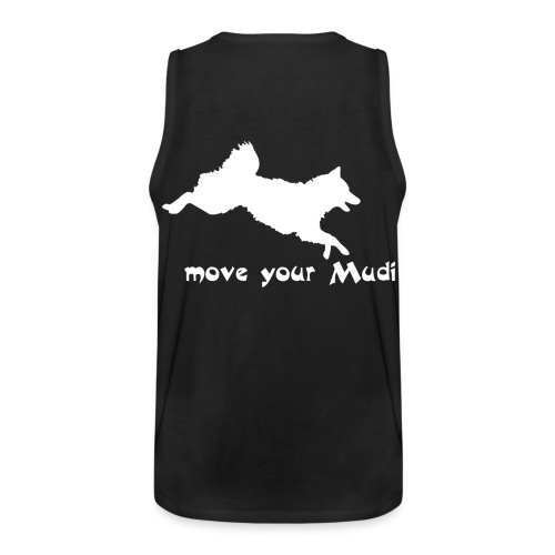 moyomu white - Men's Premium Tank Top
