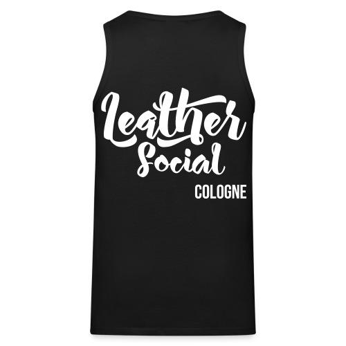 LeatherSocial positiv - Männer Premium Tank Top