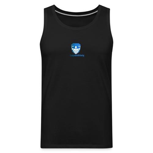 Loyal athlete banner - Men's Premium Tank Top