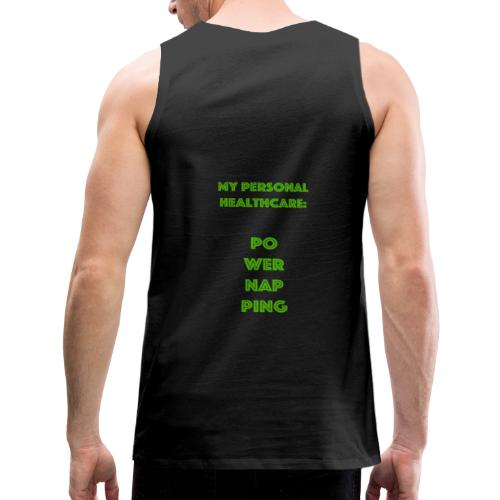 Powernapping - Männer Premium Tank Top