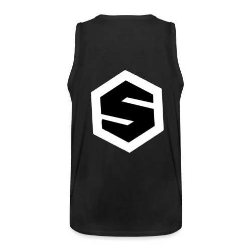 Souloman BlackWhite - Men's Premium Tank Top