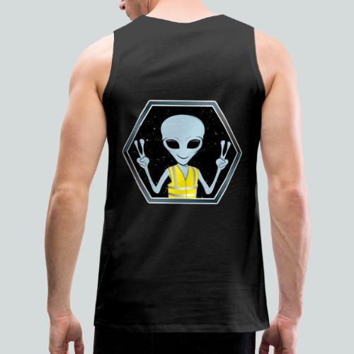 Extraterrestre Gilet jaune - Débardeur Premium Homme